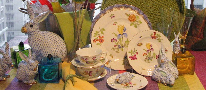 Herend Antique Iris Collections
