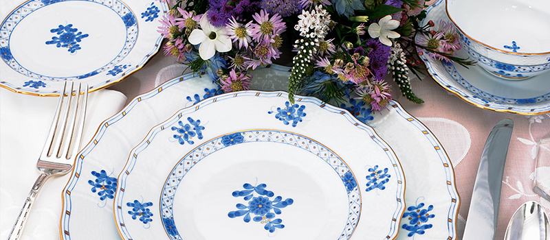 Herend Blue Garden Collection