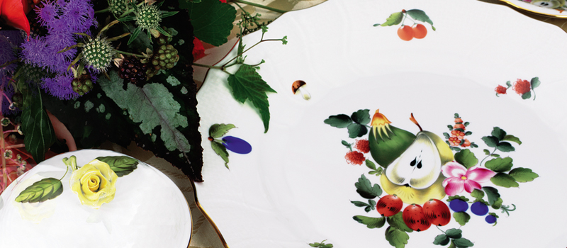 Herend Fruits and Flowers Collection